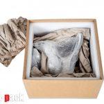 Csomagoló doboz bélelés egyedi és nagy értékű művészeti alkotásnál.