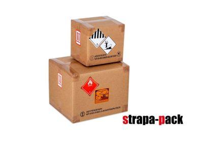 veszélyes áru doboz