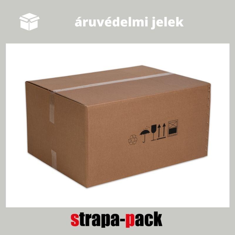 áruvédelmi jelölések strapa-doboz