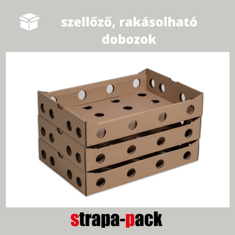 zöldséges láda strapa-doboz