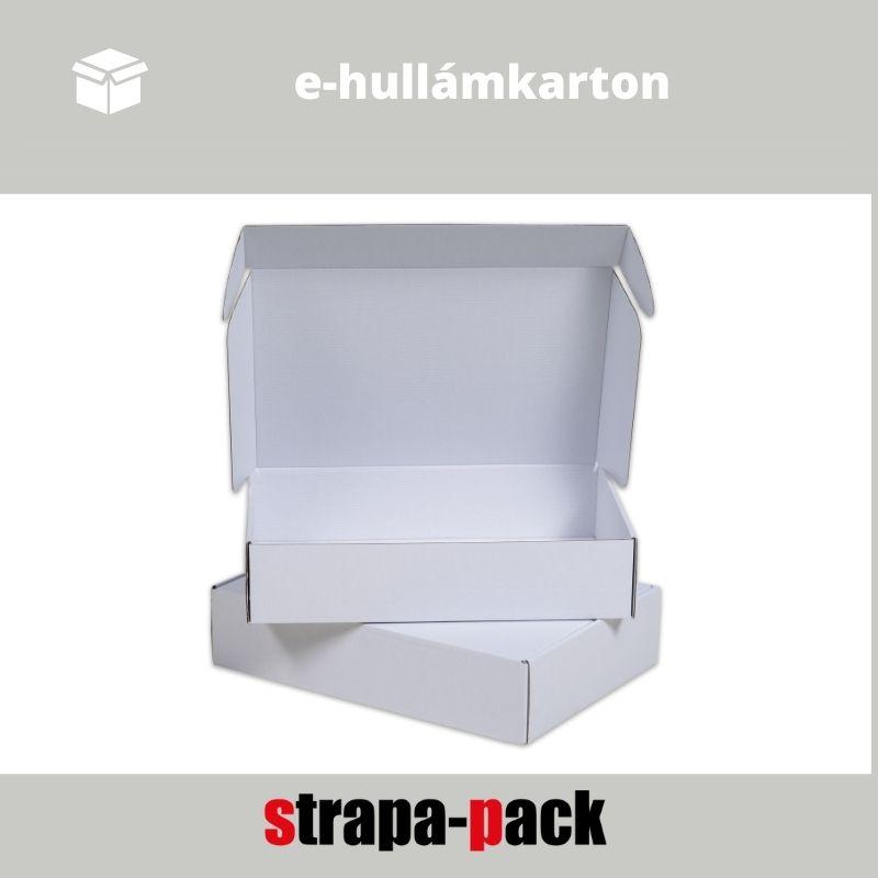 e-hullámkarton strapa-doboz