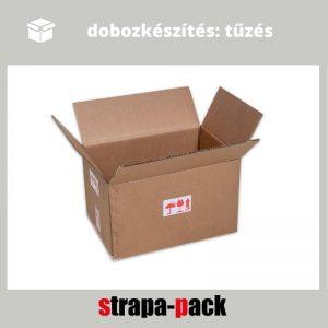 dobozkészítés tűzéssel strapa-doboz